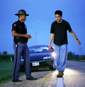 Failing an Arkansas Field Sobriety Test