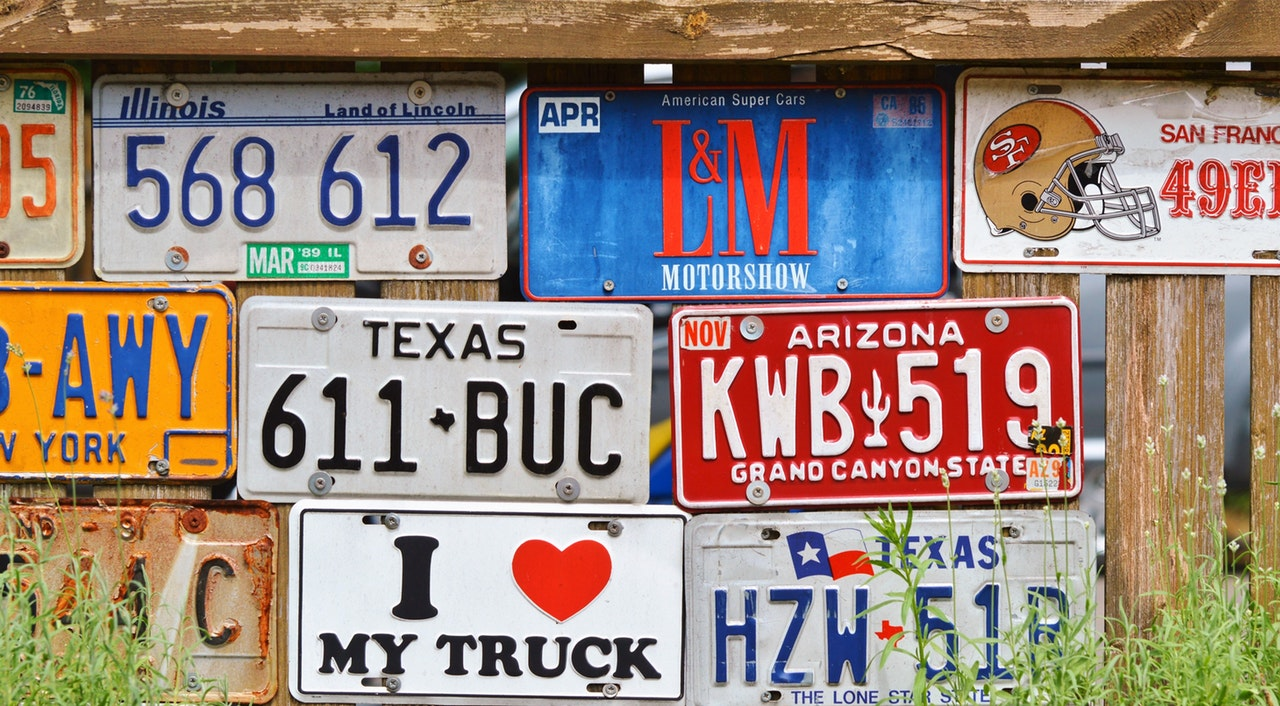 DUI License Plates